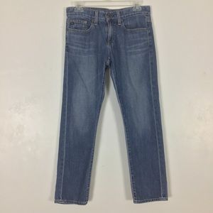 AG Adriano Goldschmied The Piper Slim Crop Jeans